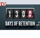 1300+ jours de rétention chez Giganews