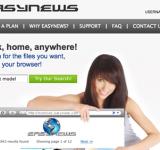 L'atout Easynews, son webnews